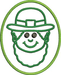 St Pats Guy embroidery design