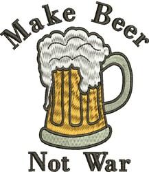 Make Beer embroidery design