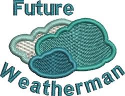 Future Weatherman embroidery design
