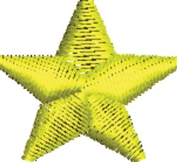 Five Point Star embroidery design