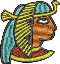 Pharaoh embroidery design