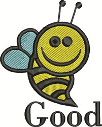 Good Bee embroidery design