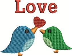 Birds Love embroidery design