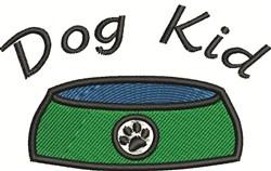 Dog Kid embroidery design