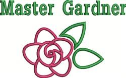 Master Gardner embroidery design