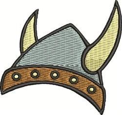 Viking Helmet embroidery design