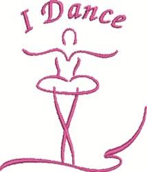 I Dance embroidery design