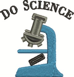 Do Science embroidery design