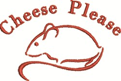 Cheese Please embroidery design