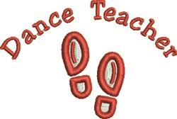 Dance Teacher embroidery design
