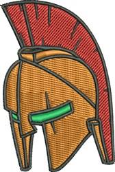 Gladiator Helmet embroidery design