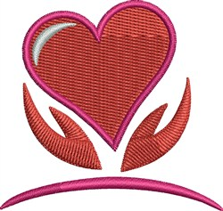 Special Heart embroidery design