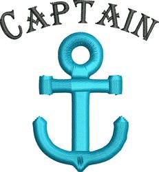 Captain embroidery design
