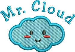 Mr. Cloud Baby embroidery design