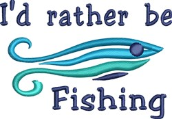 Rather Fish embroidery design