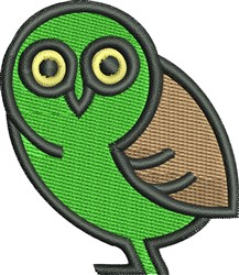 Owl Baby embroidery design