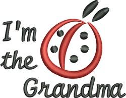 Im Grandma embroidery design