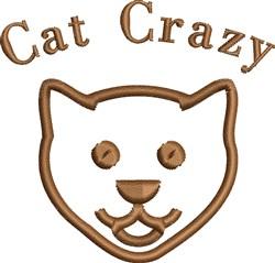 Cat Crazy embroidery design