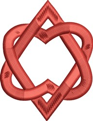 Hearts Entwined embroidery design