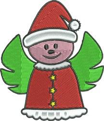 Christmas Angel embroidery design