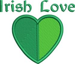Irish Love embroidery design