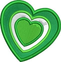 Irish Hearts embroidery design