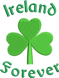 Ireland Forever embroidery design