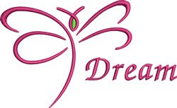 Butterfly Dream embroidery design