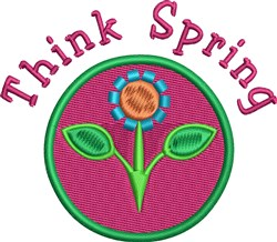 Thing Spring Flower embroidery design