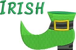 Irish Pats Boot embroidery design