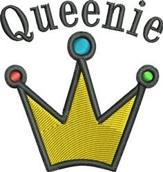 Queenie Crown embroidery design