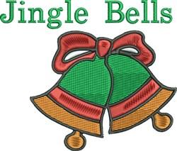 Jingle Bells Christmas embroidery design