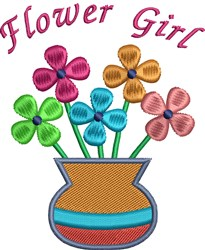 Flower Bouquet 3 embroidery design