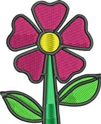 Garden Flower embroidery design