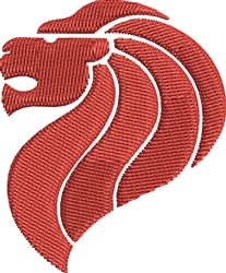 Red Lion embroidery design