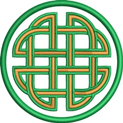 Celtic Knot Circle embroidery design