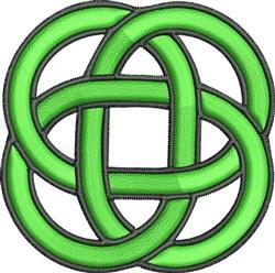 Irish Celtic Knot embroidery design