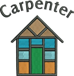 House Carpenter embroidery design