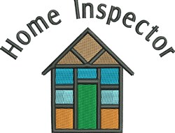 House Home Inspector embroidery design