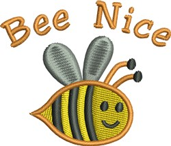 Little Bee Nice embroidery design