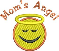 Moms Angel embroidery design