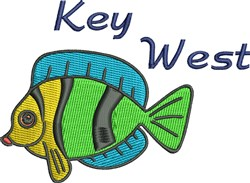 Key West embroidery design