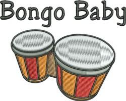 Bongo Baby embroidery design