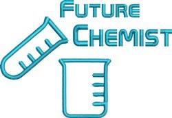 Future Chemist embroidery design