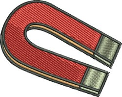 Magnet embroidery design
