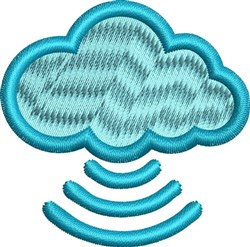 The Cloud embroidery design