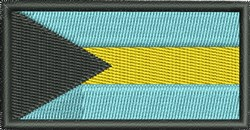 Flag Of Bahamas embroidery design