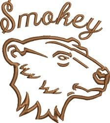 Smokey Bear embroidery design