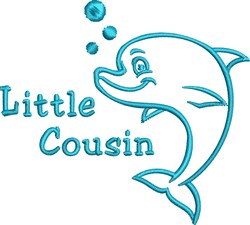 Little Cousin embroidery design