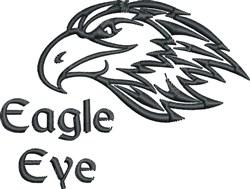 Eagle Eye embroidery design